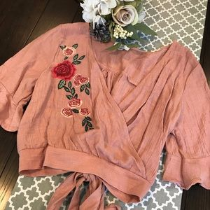 Mine by Anthropologie top